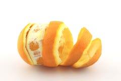 Peel Navel Orange Stock Images