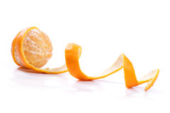 Peel of an orange Royalty Free Stock Photos