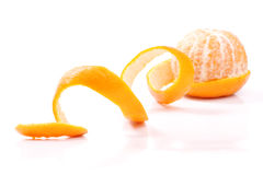 Peel of an orange Royalty Free Stock Photography