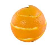 Peel of an orange royalty free stock photo