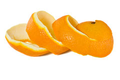 Peel of an orange Royalty Free Stock Image