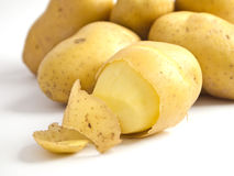 Peel potato Royalty Free Stock Photography