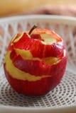 Peel skin apple Stock Image