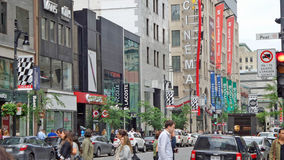 Peel Street Stock Image