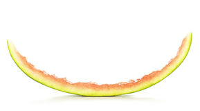 Peel of Watermelon Stock Photo