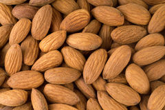 Peeled almonds closeup. For vegetarians. Peeled almonds closeup. For, vegetarians Stock Photography