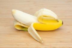Peeled banana Royalty Free Stock Photo
