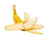 Peeled banana isolated Stock Images