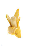 A peeled banana Royalty Free Stock Image