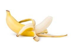 Peeled banana Stock Photos