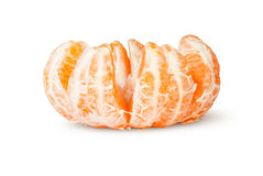 Peeled And The Broken Tangerine Royalty Free Stock Photo