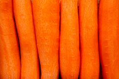 Peeled carrots Royalty Free Stock Photos