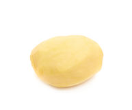 Peeled clean potato isolated Royalty Free Stock Photography