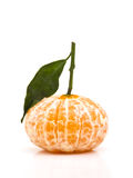 Peeled Clementine Royalty Free Stock Images