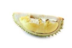 Peeled durian isolated. Stock Photo
