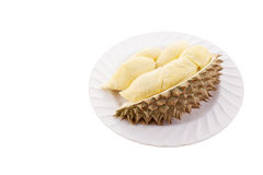 Peeled durian. Stock Image