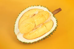 Peeled durian Stock Image