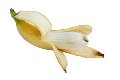 Peeled fresh banana Royalty Free Stock Images