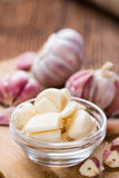 Peeled Garlic Stock Photo