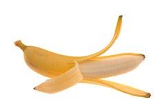 Peeled golden banana Royalty Free Stock Photos