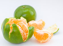 Free Peeled Honey Mandarin Oranges Stock Photography - 5226742