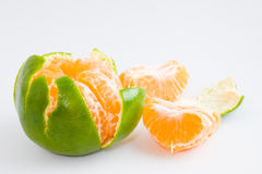 Peeled Honey Mandarin Oranges Royalty Free Stock Photography