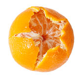 Peeled Juicy Tangerine Royalty Free Stock Photography