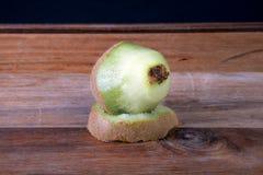 Peeled Kiwi Royalty Free Stock Photo