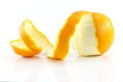 Peeled lemon fruit Royalty Free Stock Photos