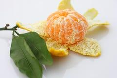 Peeled mandarin Royalty Free Stock Photo