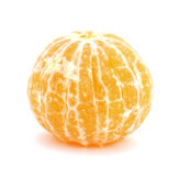 Peeled mandarin Stock Images