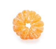 Peeled mandarin Stock Photography