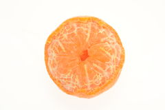 Peeled Mandarin Orange Stock Images