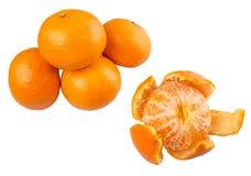 Peeled Mandarin Orange Fruit VII Royalty Free Stock Image