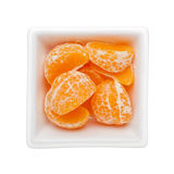 Peeled mandarin orange Royalty Free Stock Images
