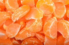 Peeled mandarin Royalty Free Stock Image