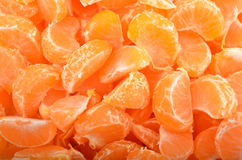 Peeled mandarin Stock Image