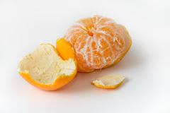 Peeled mandarin Stock Image