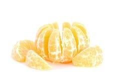 Peeled Mandarine Stock Photography