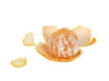 Peeled orange Royalty Free Stock Image