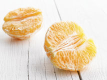 Peeled Orange Royalty Free Stock Images