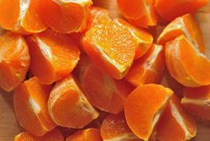 Peeled orange Royalty Free Stock Photos