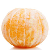 Peeled orange fresh tasty Royalty Free Stock Images