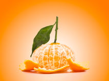 Peeled Orange Stock Photos