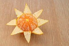 Peeled orange 3 Royalty Free Stock Photography