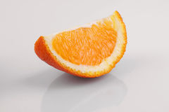 Peeled orange Stock Image