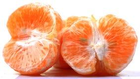 Peeled oranges royalty free stock images