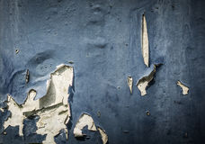 Peeled paint with gray colour on a brick wall due to bad weather photo taken in Jakarta Indonesia Royalty Free Stock Photo