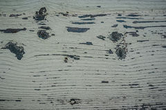 Peeled paint over wood boards Stock Photos