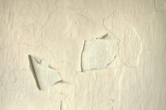 Peeled painted wall Stock Photo